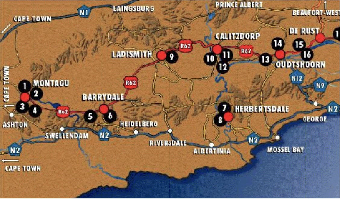 Winelands chart